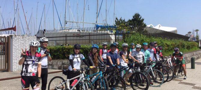 江ノ島サイクリングに行ってきましたー!