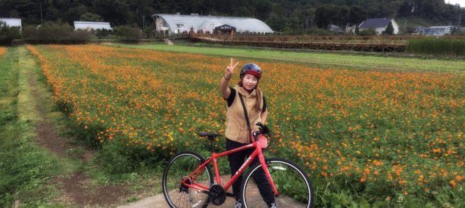初心者の方や女性の方にもオススメ!山中湖でまったりサイクリング~!