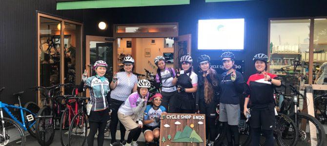 女子サイクリング開催しましたーー!!ロードバイク、クロスバイクで茅ヶ崎までレッツゴーです❤︎