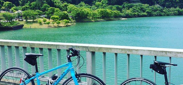 ロードバイクとクロスバイクで丹沢湖へレッツゴーーー!!!!