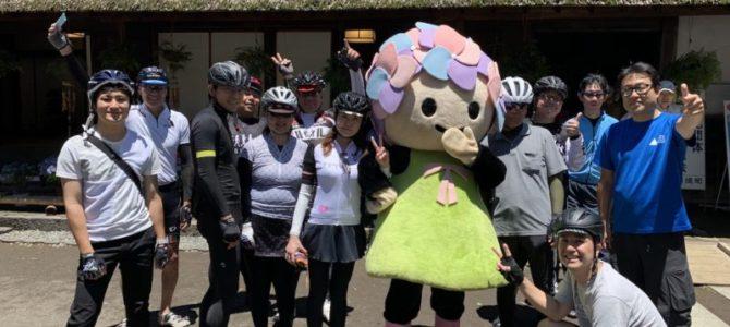 開成町「瀬戸屋敷風鈴まつりサイクリングツアー」は最高の天気で開催しました!