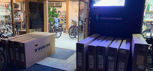 いや~ついに続々とTREKバイクが入荷です!人気のFXやEMONDA ALRも入荷です!