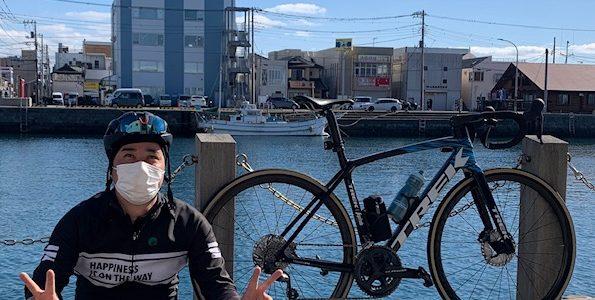 三浦半島へ海沿いサイクリングに行ってきたよ~!お店から往復約140kmだよ。