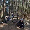 自転車で山遊び。サイコーですよ。